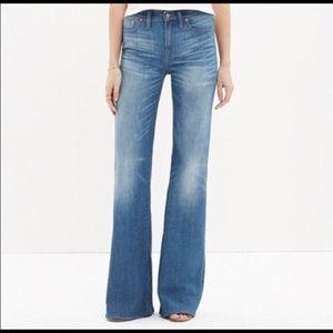Madewell Flea Market Flare Jean